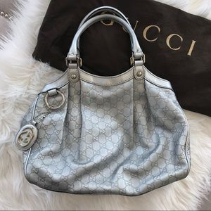 Gucci Medium Sukey - Silver